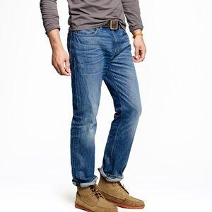 J. Crew 1040 Athletic Slim Straight Jeans